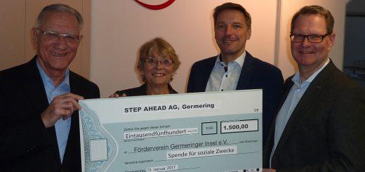 Christian Dittrich, Gaby Pichelmaier, Guido Grotz und Wolfgang Reichenbach