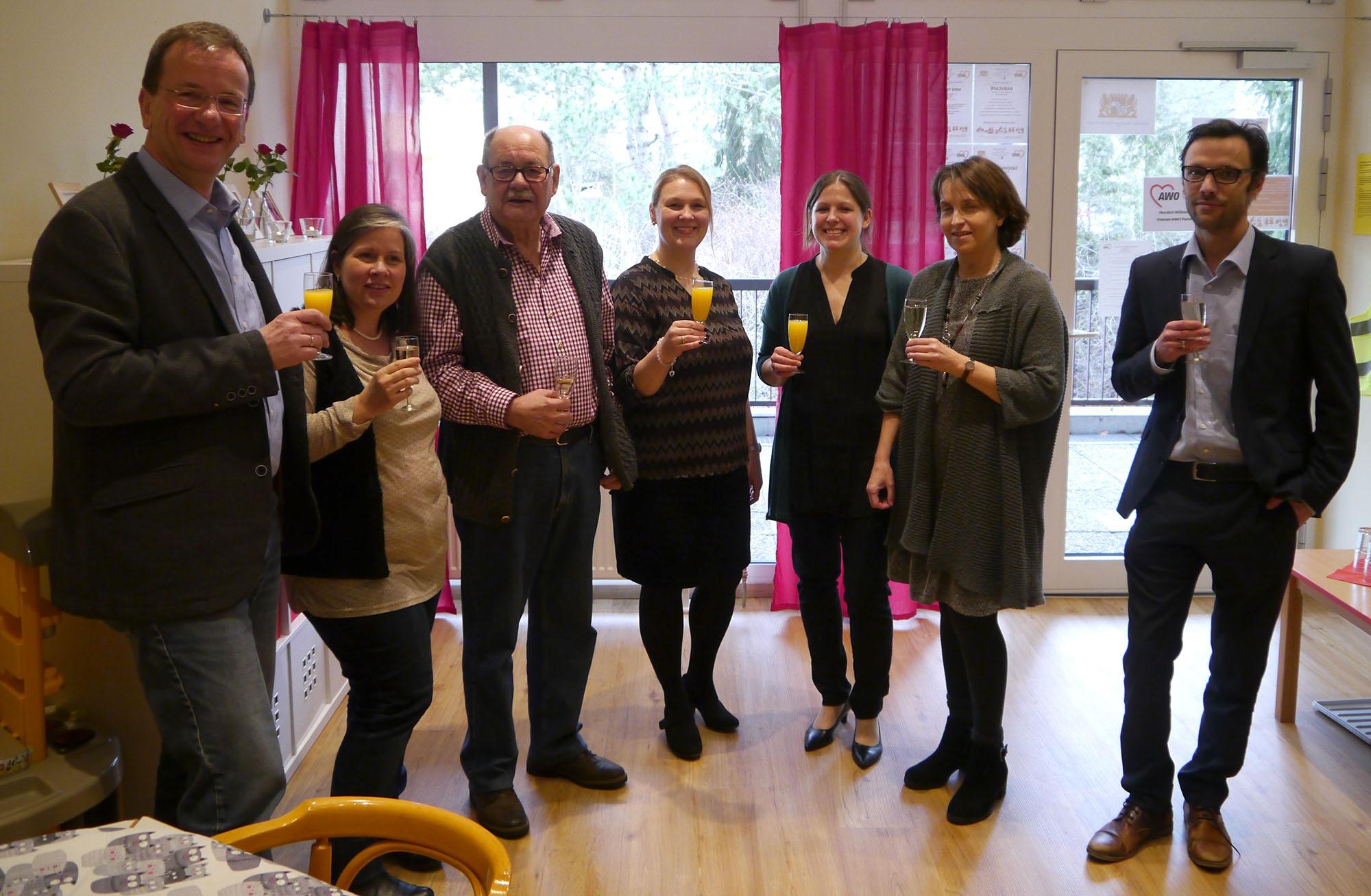 Eröffnung des kleinen Familiencaés im Mehrgenerationenhaus Zenja